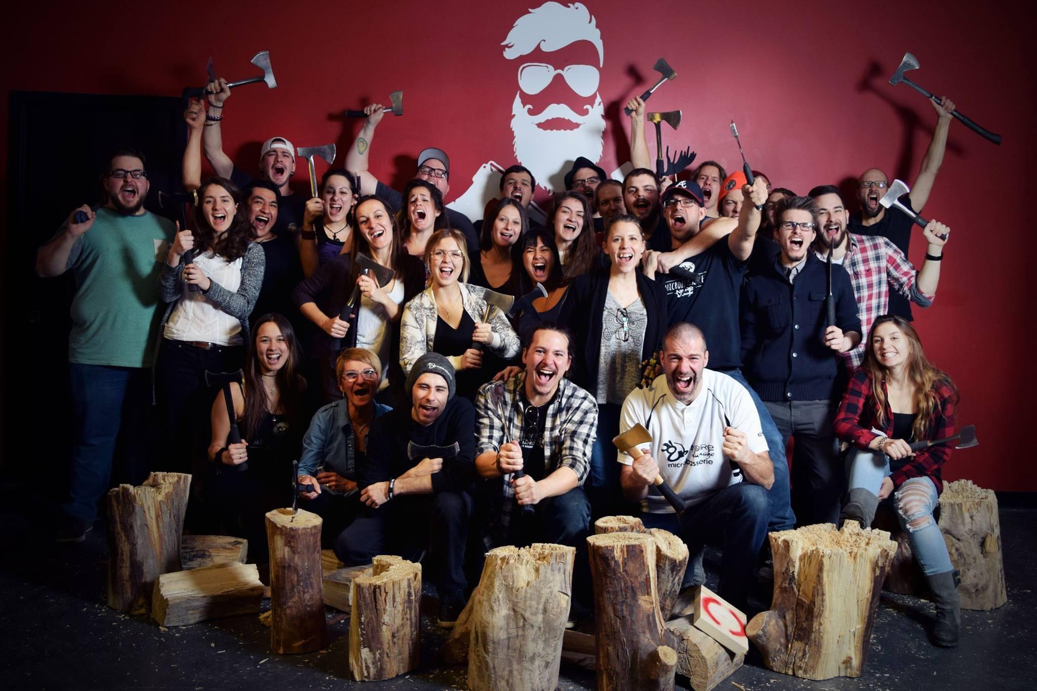 Microbrasserie-restaurant employer equipe